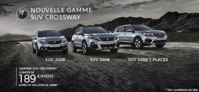 Peugeot Nouvelle Gamme SUV